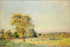 Vinilo para la pared  A Summer's Day, 1886 - Alfred Sisley