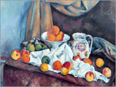 Cuadro de metacrilato  Nature morte - Paul Cézanne