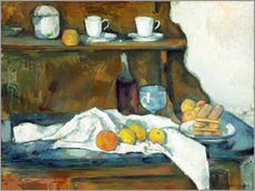 Vinilo para la pared  Le buffet - Paul Cézanne