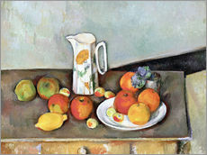 Vinilo para la pared  Milk Jug - Paul Cézanne
