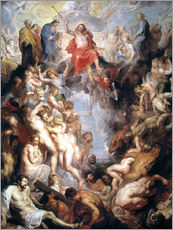 Vinilo para la pared  The (large) Last Judgement - Peter Paul Rubens