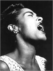 Vinilo para la pared  Billie Holiday
