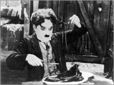 Cuadro de plexi-alu  Chaplin: The Gold Rush