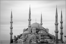 Cuadro de plexi-alu  the blue mosque in Istanbul / Turkey - gn fotografie