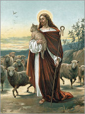 Cuadro de plexi-alu  The good shepherd - John Lawson