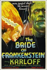 Cuadro de plexi-alu  The Bride of Frankenstein