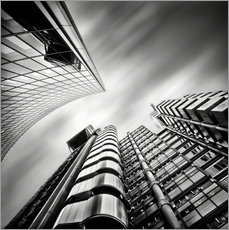 Vinilo para la pared Lloyds London | 01 (black/white)