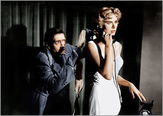 Vinilo para la pared  Dial M for Murder, from left: Anthony Dawson, Grace Kelly in 1954