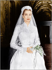 Cuadro de plexi-alu  The Wedding in Monaco, Grace Kelly
