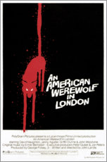 Cuadro de aluminio  An American Werewolf in London