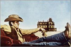 Cuadro de plexi-alu  James Dean as a cowboy