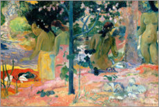 Vinilo para la pared  Los bañistas - Paul Gauguin