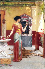 Vinilo para la pared  The Bouquet - John William Godward