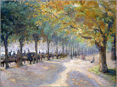 Vinilo para la pared  Hyde Park, London. 1890 - Camille Pissarro