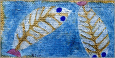 Lienzo  Blue-eyed fish - Paul Klee