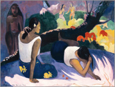 Cuadro de PVC  Pleasures of the evil spirit (Arearea no vareua ino) - Paul Gauguin