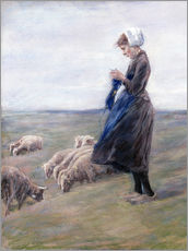 Vinilo para la pared  Shepherdess - Max Liebermann