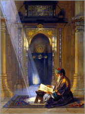 Vinilo para la pared  In the Mosque - Carl Friedrich Heinrich Werner