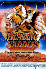 Vinilo para la pared  BLAZING SADDLES