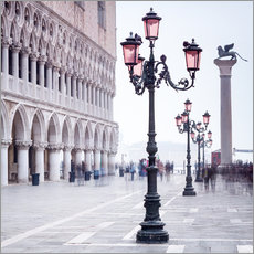 Cuadro de plexi-alu  St. Mark's Square in Venice in Winter - Jan Christopher Becke