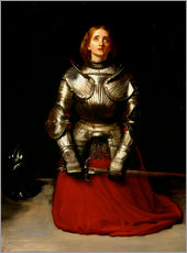 Vinilo para la pared  Joan of Arc - Sir John Everett Millais