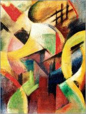 Póster  Small composition I - Franz Marc