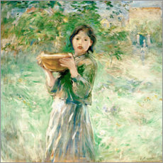 Cuadro de metacrilato  The milk bowl - Berthe Morisot