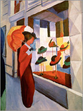 Vinilo para la pared  Sombrerería - August Macke