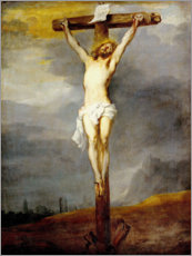 Póster  Chris on the cross - Anthonis van Dyck