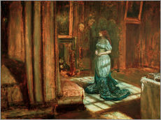 Vinilo para la pared  The Eve of St Agnes - Sir John Everett Millais