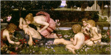Vinilo para la pared  Criando a los Adonis - John William Waterhouse
