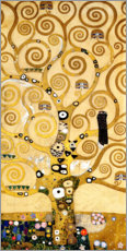 Vinilo para la pared  The Tree of Life (central panel) - Gustav Klimt
