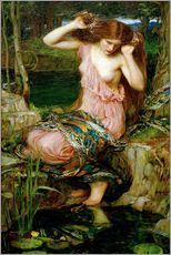 Cuadro de plexi-alu  Lamia - John William Waterhouse