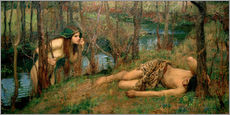 Cuadro de plexi-alu  Náyade - John William Waterhouse