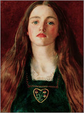 Vinilo para la pared  Sophie Gray - Sir John Everett Millais