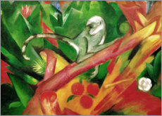 Vinilo para la pared  El monito - Franz Marc