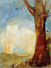 Vinilo para la pared  The barque - Odilon Redon