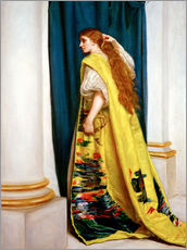 Vinilo para la pared  Esther - Sir John Everett Millais