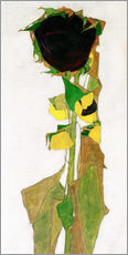 Vinilo para la pared  Sunflower - Egon Schiele