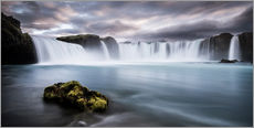Vinilo para la pared  Godafoss Waterfall in Iceland - Andreas Wonisch