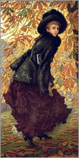 Cuadro de plexi-alu  October - James  Tissot