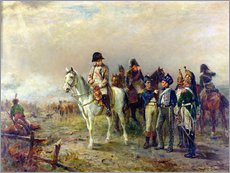 Vinilo para la pared  The Turning Point at Waterloo - Robert Alexander Hillingford