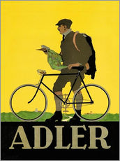 Vinilo para la pared  Adler Bicycles - Advertising Collection