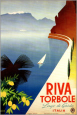 Póster  Italia, Riva Torbole (Lago di Garda) - Travel Collection