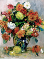 Póster Vase with Flowers