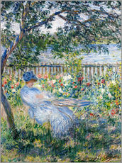 Vinilo para la pared  La terraza - Claude Monet