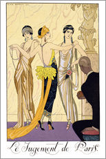 Georges Barbier - The Judgement of Paris, 1920-30