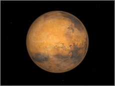 Vinilo para la pared Planet Mars