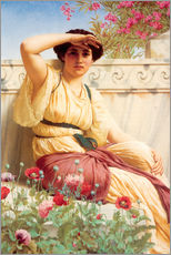 Cuadro de plexi-alu  A Tryst - John William Godward