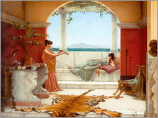 Vinilo para la pared  The Sweet Siesta Of A Summer Day - John William Godward